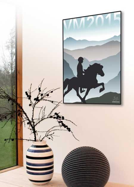 køb plakater med heste
