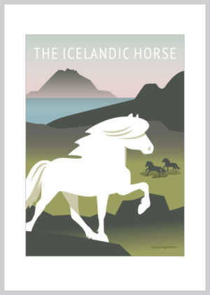 The Icelandic Horse kort