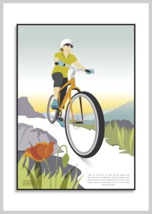 mountainbike plakat