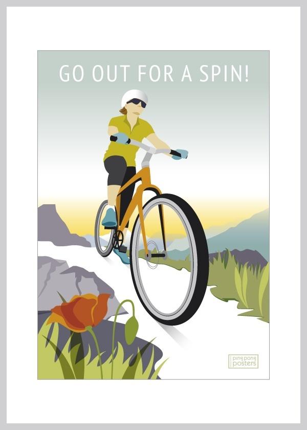 mountainbike plakat