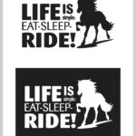 Sticker life is simple